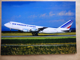 AIR FRANCE CARGO  B 747   F-BPVZ - 1946-....: Era Moderna