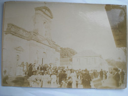 Photo 24/17  Av. 1900 Guadeloupe Sur Carton  Eglise De Notre Dame De La Guadeloupe - Ancianas (antes De 1900)