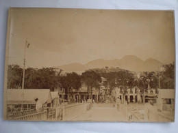 Photo 24/17  Av. 1900 Guadeloupe Sur Carton  La Savane - Ancianas (antes De 1900)