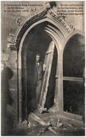 22 SAINT-BRIEUC - L'inventaire à La Cathédrale - Porte Intéreiure De La Sacristie Arrachée - Saint-Brieuc
