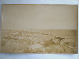 Photo 24/17  Av. 1900 Guadeloupe Sur Carton Basse Terre Vue Générale - Ancianas (antes De 1900)