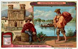 CHROMO LIEBIG - Pays Equatoriaux Equateur Colombie Série Française N°1054 B) - Année 1912 TB.Etat - Liebig