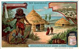 CHROMO LIEBIG - Pays Equatoriaux Afrique Anglaise Série Française N°1054 A) - Année 1912 TB.Etat - Liebig