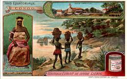 CHROMO LIEBIG - Pays Equatoriaux Congo Série Française N°1054 E) - Année 1912 TB.Etat - Liebig