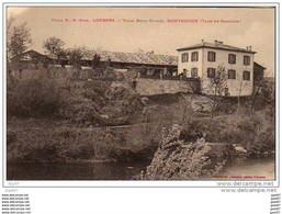 "Cpa  (  Dep 82  )  Villa  """" Beau-Rivage à MONTRICOUX - Other Municipalities"