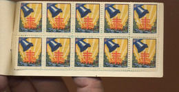 Bell Cloches. Klocken. Booklet Of 10 Perfect Cinderellas From 1926 = Fight Tuberculosis - Muziek