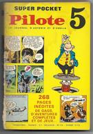 PILOTE SUPER POCKET N°5 - Septembre 1969 - Dargaud -Acille Talon - Blueberry - Philemon - Astérix - Valérian - Pilote