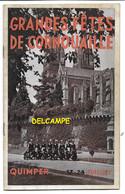 BRETAGNE QUIMPER - RARE - Programme Des Grandes Fêtes De Cornouaille Juillet 1949 - Superbe état - Programma's