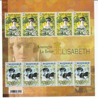 FEUILLET ELISABETH ** / MNH  Départ 0,89 - Foglietti