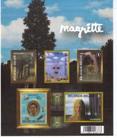 FEUILLET MAGRITTE  ** / MNH  Départ 0,89 - Foglietti