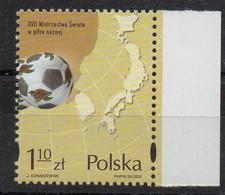 POLOGNE - POLAND - 2002 - FOOTBALL - SOCCER - COUPE DU MONDE EN COREE - WORLD CUP IN KOREA - - Neufs