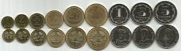 Tajikistan 2019. Set Of 9 High Grade Coins - Tajikistan
