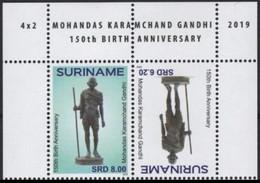 Suriname 2875/76 Mahatma Gandhi - Mahatma Gandhi