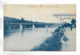 77 - PONTHIERRY ( S.-et-M. ) - Le Pont Et La Seine - Andere Gemeenten