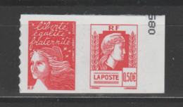 FRANCE / 2004 / Y&T N° 3716 ** (en Fait, P3716 **) Ou P43 ** : Paire Luquet TVP LP & Marianne D'Alger X 1 CdC Avec N° - Adhesive Stamps
