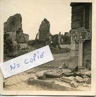 Ardennes. CHATEAU-PORCIEN. Ruines, Angle De L'hôtel De Ville - 1939-45