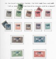95404) GERMANIA-SCHLESWIG-LEONI E VEDUTE SOP. 1° ZONE DEL 1920-  14 MNH**+ 3 USATI - Schleswig-Holstein