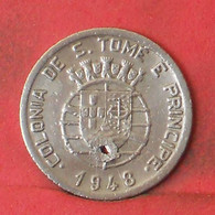 SAINT THOMAS Y PRINCIPE 50 CENTAVOS 1948 -    KM# 8 - (Nº41236) - Sao Tome And Principe