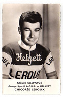 S11-003 Chicorée Leroux - Helyett - Claude Sauvage - Cycliste - Ciclismo