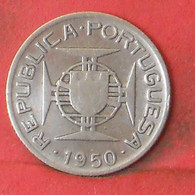 MOZAMBIQUE 2,5 ESCUDOS 1950 -    KM# 68 - (Nº41240) - Mozambique