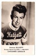 S11-004 Chicorée Leroux - Helyett - Seamus Elliott - Cycliste - Ciclismo