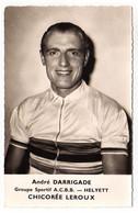 S11-005 Chicorée Leroux - Helyett - André Darrigade - Cycliste - Ciclismo