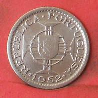 MOZAMBIQUE 2,5 ESCUDOS 1952 -    KM# 78 - (Nº41241) - Mozambique
