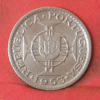 MOZAMBIQUE 2,5 ESCUDOS 1953 -    KM# 78 - (Nº41242) - Mozambique