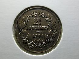 Luxembourg 2 1/2 Centimes 1901 - Lussemburgo