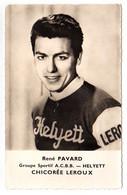 S11-007 Chicorée Leroux - Helyett - René Pavard - Cycliste - Ciclismo