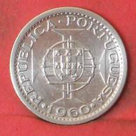MOZAMBIQUE 5 ESCUDOS 1960 - ***SILVER***   KM# 84 - (Nº41244) - Mozambique