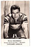 S11-010 Chicorée Leroux - Helyett - Michel Rousseau - Cycliste - Ciclismo