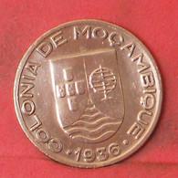 MOZAMBIQUE 20 CENTAVOS 1936 -    KM# 64 - (Nº41249) - Mozambique
