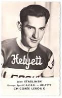 S11-011 Chicorée Leroux - Helyett - Jean Stablinski - Cycliste - Ciclismo