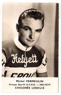 S11-012 Chicorée Leroux - Helyett - Michel Vermeulin - Cycliste - Ciclismo