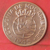MOZAMBIQUE 1 ESCUDOS 1945 -    KM# 74 - (Nº41251) - Mozambique