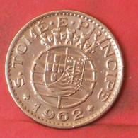 SAINT THOMAS Y PRINCIPE 1 ESCUDOS 1962 -    KM# 18 - (Nº41253) - Sao Tome And Principe