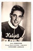S11-014 Chicorée Leroux - Helyett - Jean Forestier - Cycliste - Ciclismo