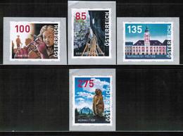 AT 2020 MI 37-40 Dispensenmarken MNH - 2011-... Unused Stamps