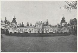 E0854 Poland - Varsavia - Il Castello Di Wilanow - 1930 Stampa - Vintage Print - Stampe & Incisioni