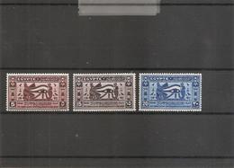 Egypte ( 199/201 X -MH) - Nuevos