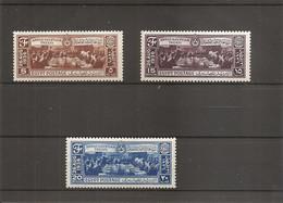 Egypte ( 184/186 X -MH) - Nuevos