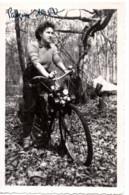 Velo-moto Solex 1950 - Photo 6.5x9.5cm Jeune Femme - Otros