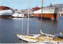"PETROLIER Tanker - Le "" FINA BELGIQUE "" Dans Le Port De LA CIOTAT (13) - CPSM GF 1972 - Tankschip Petroliera Petrolero - Tankers"