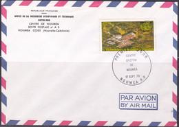 Lettre De Nouvelle Calédonie 1979, Centre Orstom De Nouméa (ref L754) - Cartas