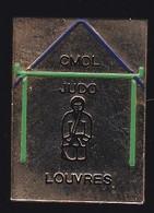 70157-Pin's.Club Municipal D'Orville Louvres (CMOL). JUDO - Judo