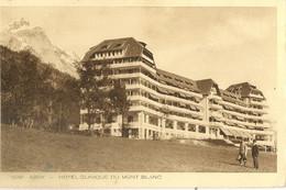 74 PASSY PLATEAU D ASSY HOTEL CLINIQUE DU MONT BLANC EDITEURS BRAUN 12391 - Passy