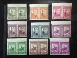 Portuguese Guinea, 2 X Full Set **MINT Condition, « IMPERIO COLONIAL PORTUGUÊS », 1938 - Guinea Portuguesa