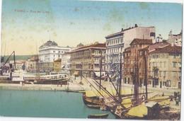 Croatia - FIUME RIJEKA - Riva Del Lido  - Cartolina VI° Prestito Nazionale Consolidato 5% - 1920  Credito Romagnolo - Croatia