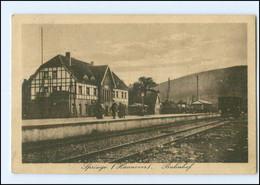 XX007283-3257/ Springe Bahnhof 1925 AK - Unclassified